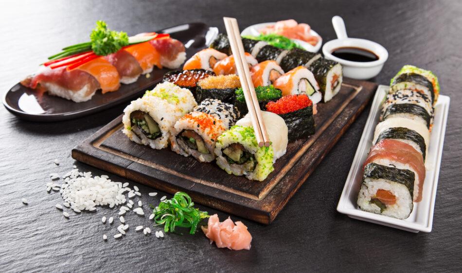 cucina il sushi